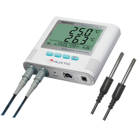 moisture and temperature monitoring warehouse temperature humidity meter