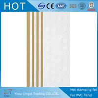 flower design thermal transfer press for pvc ceiling panel