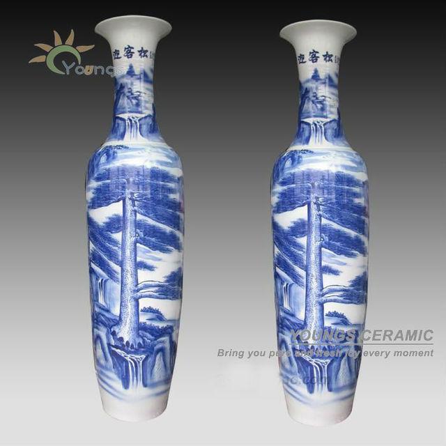 China Blue Decorative Vases Wholesale Alibaba