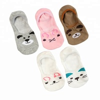 Women Fashion Standard Cotton Sock Slippers Soft Breathable Cute Rabbit Short Ankle Hosiery For Girls Ladies
