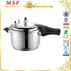 Majestic professional 304 stainless steel pressure cooker with whistle & gasket easy to use MSF-3776