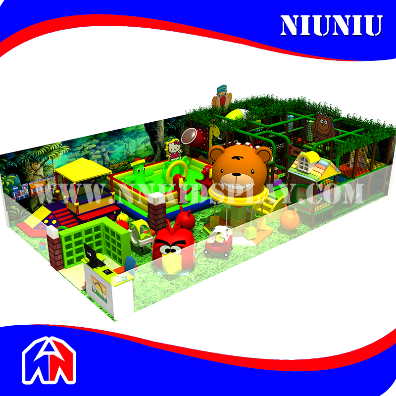 Virgin Forest Series Indoor Play Center For Kids