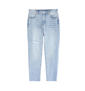 Women washed denim pant, made in China hot, ripped pant,