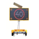 19M Electronic Full Color Amber Color VMS LED Road Work Trailer Sign Boards