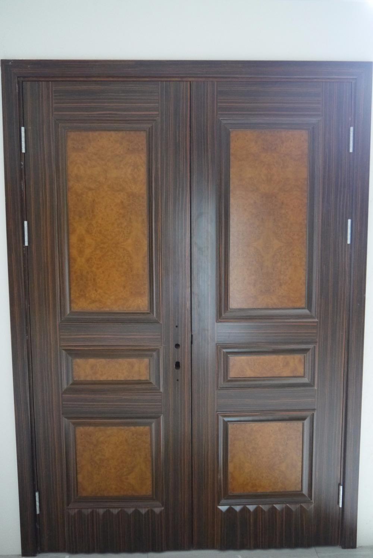 Doppeltür außen  Vorgehängten Außen Doppeltür 96 Holz Mahagoni 2-panel Round Top ...