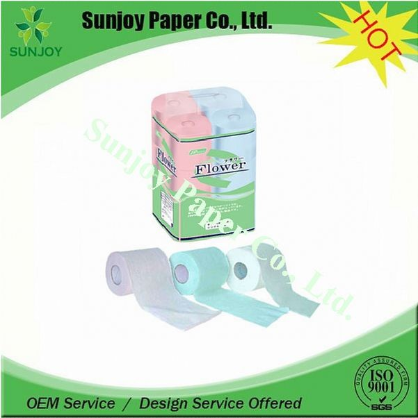 High quality hot selling wholesale price toilet tissue paper roll