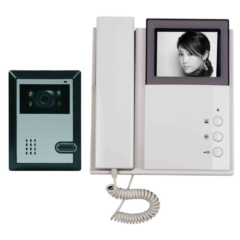 competition video door phone with 4 inch color tft lcd,energy saving,intercom system