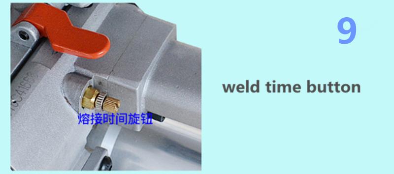 Mão pp/pet cintas de ferramentas de energia da bateria máquina de embalagem