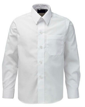 Hommes <span class=keywords><strong>blanc</strong></span> coton marque largeur <span class=keywords><strong>chemise</strong></span> à <span class=keywords><strong>col</strong></span> haut