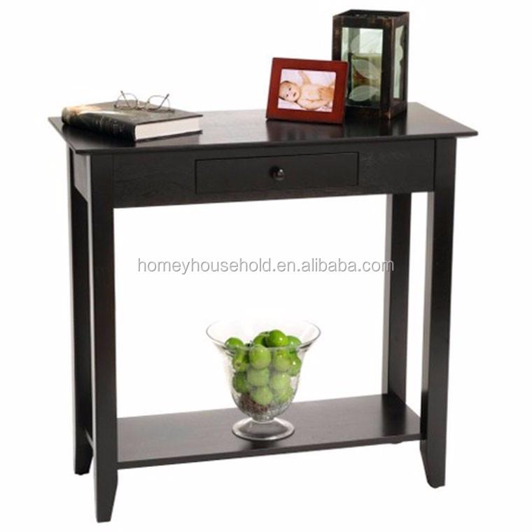 최신 고급 유행 블랙 콘솔 테이블 디자인-목재 테이블 -상품 ID ...