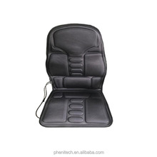 2017 Hot sales vibration back car seat kneading Massager Cushion with heating