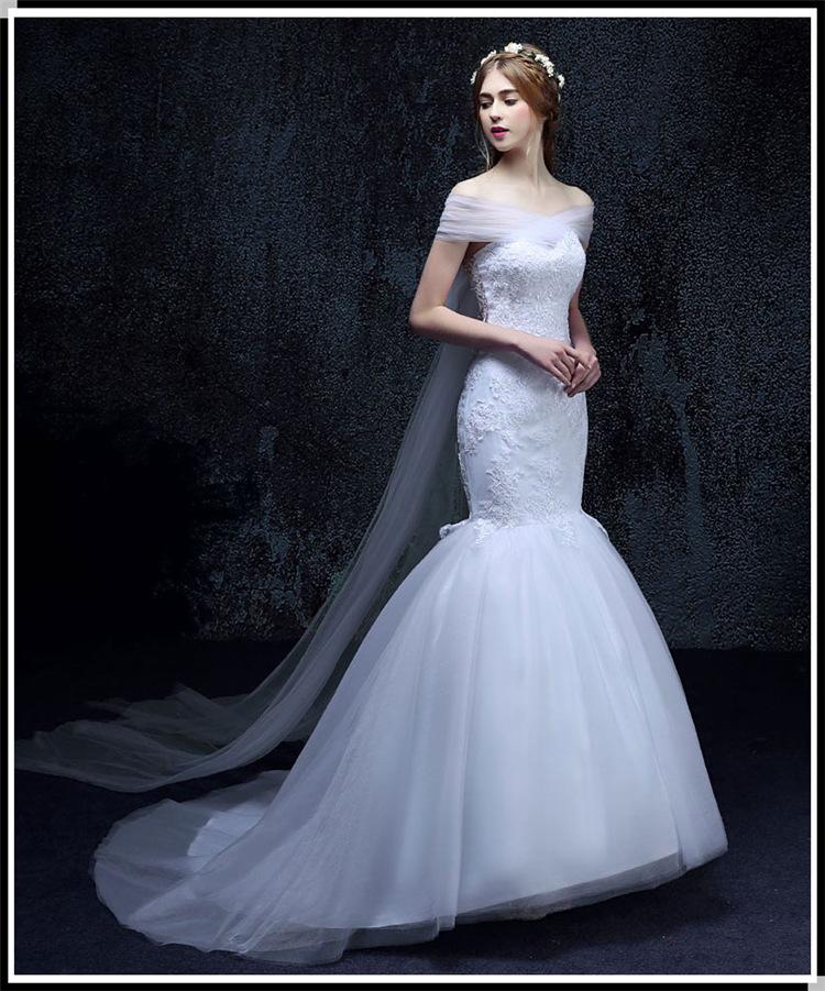 Sweetheart Mermaid Wedding Gowns