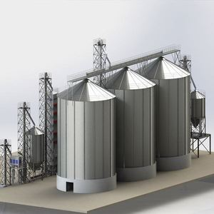 Hot Sale 500Tons 1000Tons 3000Tons Galvanized Used Grain Storage Silo Price/Used Grain Storage Silo