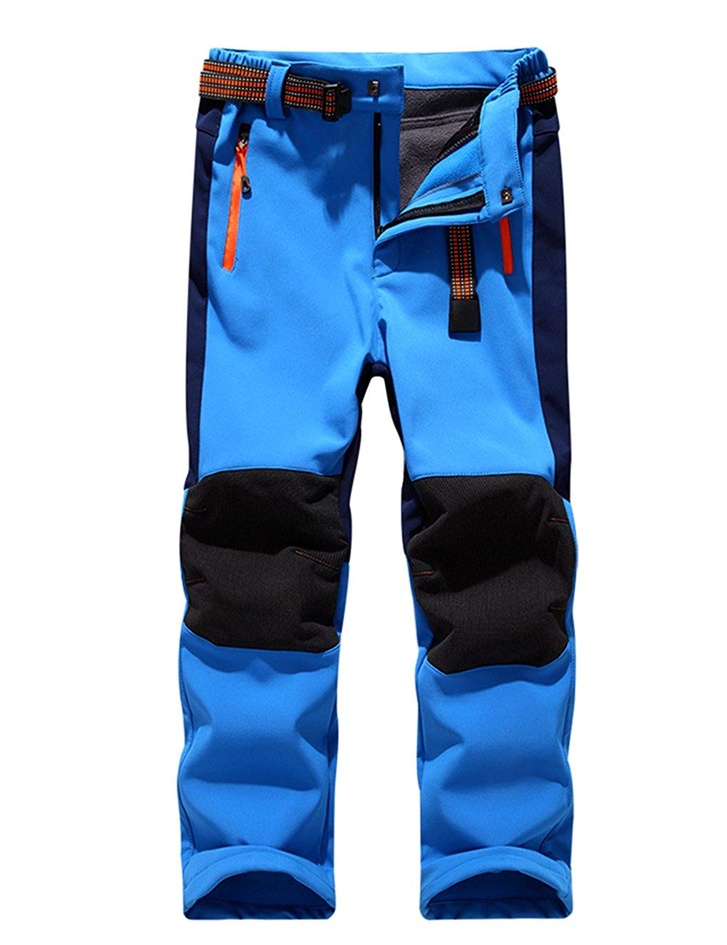 Childrens Heavyweight Snowsuit Pant Water Resistant Insulated Ski Snow Pants