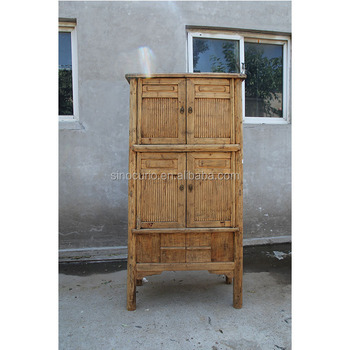 Chino Antiguo Bambú Antiguo Gabinete De Cocina Armario Gabinete Muebles Del  Guardarropa - Buy Muebles De Bambú Al Por Mayor,Muebles Antiguos ...