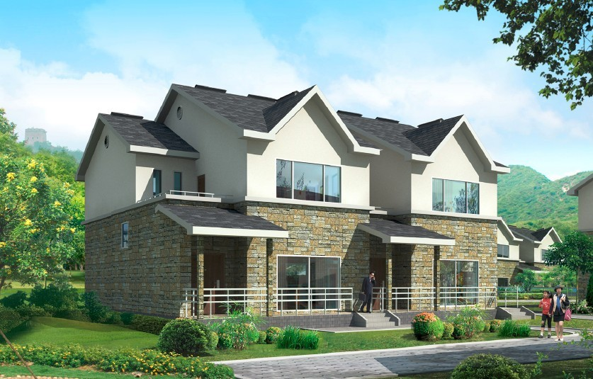 Luxus fertighaus villa  China Luxus Fertighaus Preise Mit Licht Stahlkonstruktion Für ...