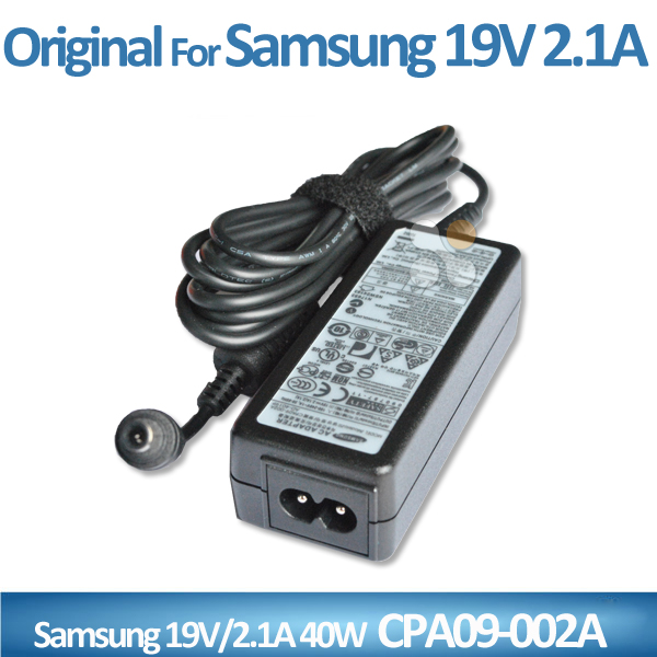 19V 2.1A Laptop charger For Samsung CPA09-002A 40W Laptop AC Adapter