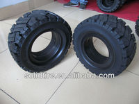 forklift solid tire,forklift parts,rubber wheel