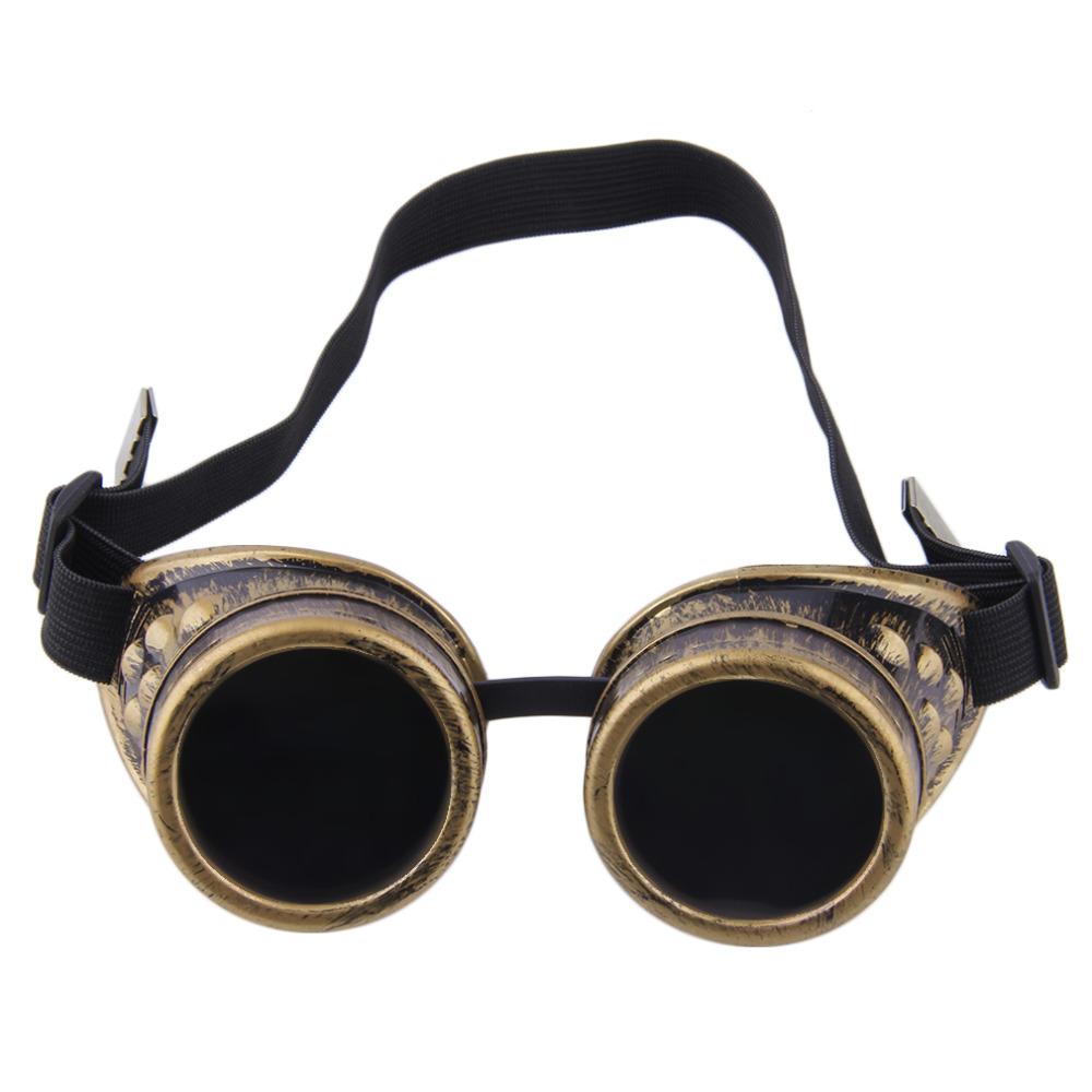 Maya Kacamata Olahraga Steampunk Kacamata Antik Retro Welding Punk Gothic  Victorian Tahan Lama Olahraga Kacamata Kacamata 186d690908