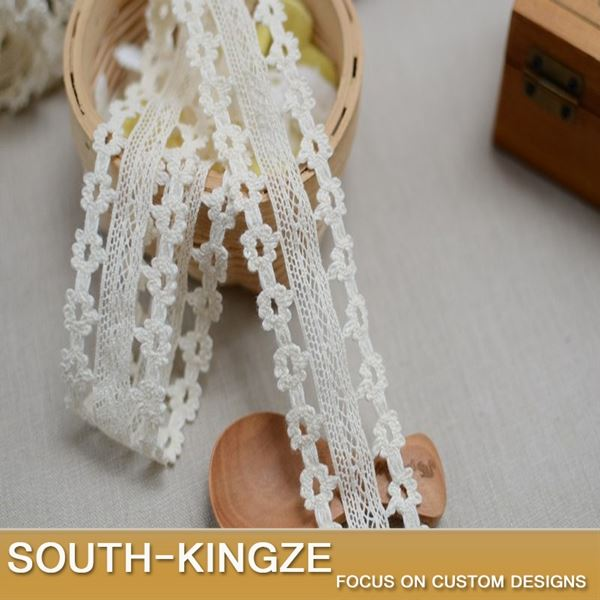 100% cotton lace,Fabric furnishing warp knitting,Embelishments for cloth or bag,Trim laces DIY,scrap booking