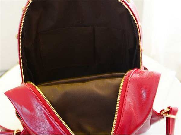 New Stylish Leather Backpack 2014 Fashion College Bags Girls - Buy ... f8ccd307b85ee