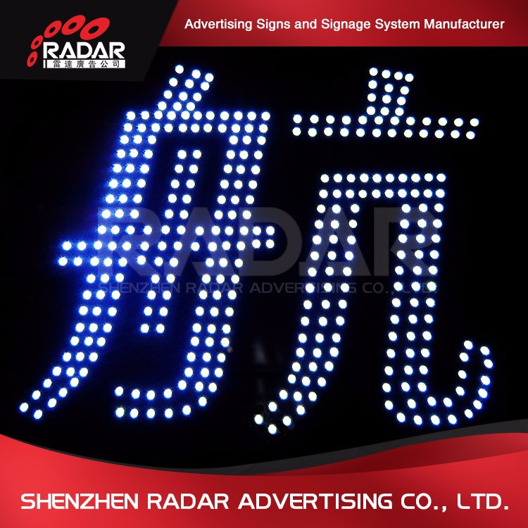 Fashionable different style led message center signs for Advertising Light Boxes