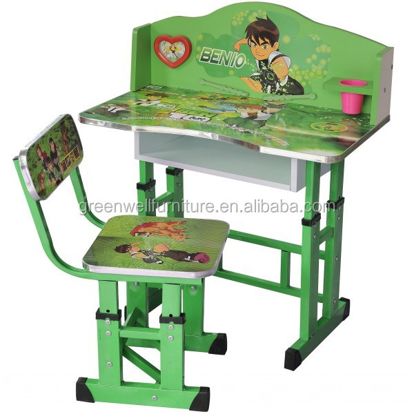 Beautiful Kindergarten Used Adjustable Kids Table And Chairs