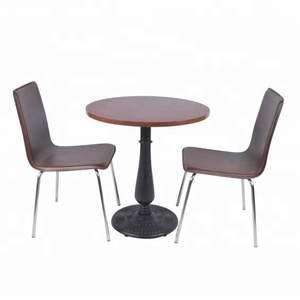 high quality well performed fast food store tables and chairs dining room set