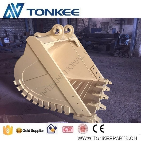 excavator spare parts bucket drawing R450 ROCK bucket assy for hyundai