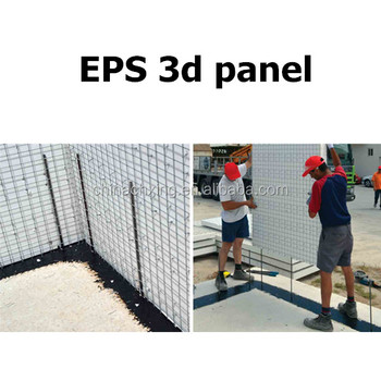 Galvanized Eps 3d Wire Mesh Panel For Construction Projects With ...