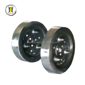 ISO 9001 cast iron industrial flywheel