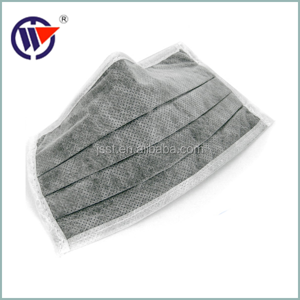 Medical Disposable 3ply Active Carbon Non Woven Surgical Face Mask ...