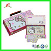 Q370 Fancy Cardboard Paper Multi-Function Pencil Case for School Student