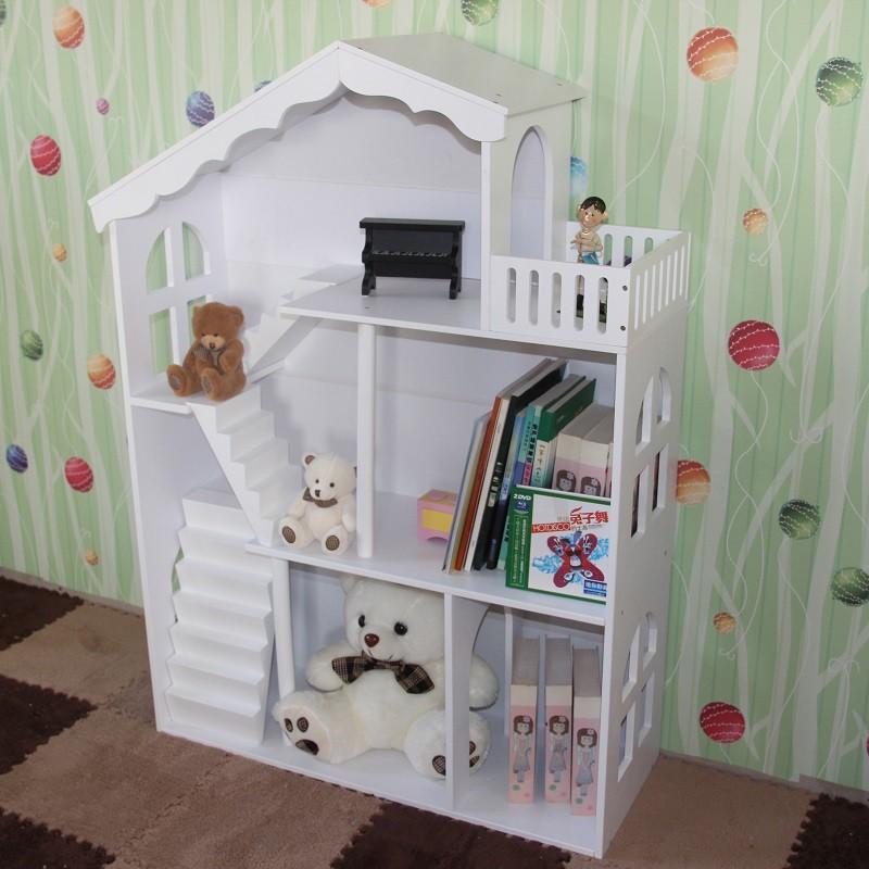 2017 nouvelle arriv e en bois enfants biblioth que enfants chambre maison de - Etagere enfant maison ...