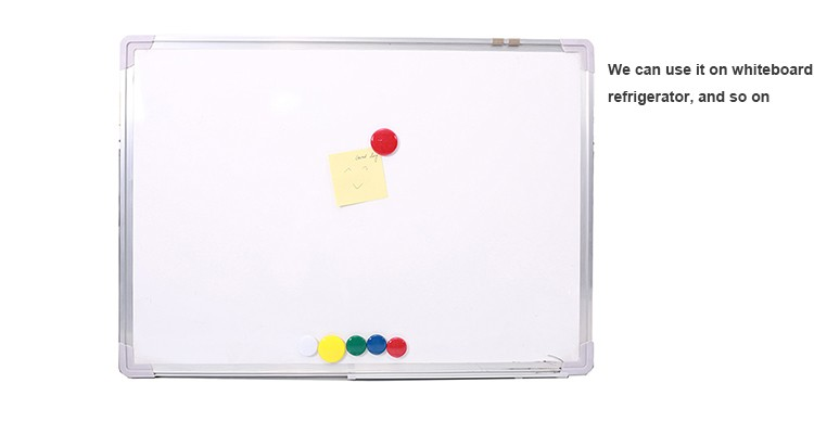 Plastic Colorful round Magnet pin for whiteboard