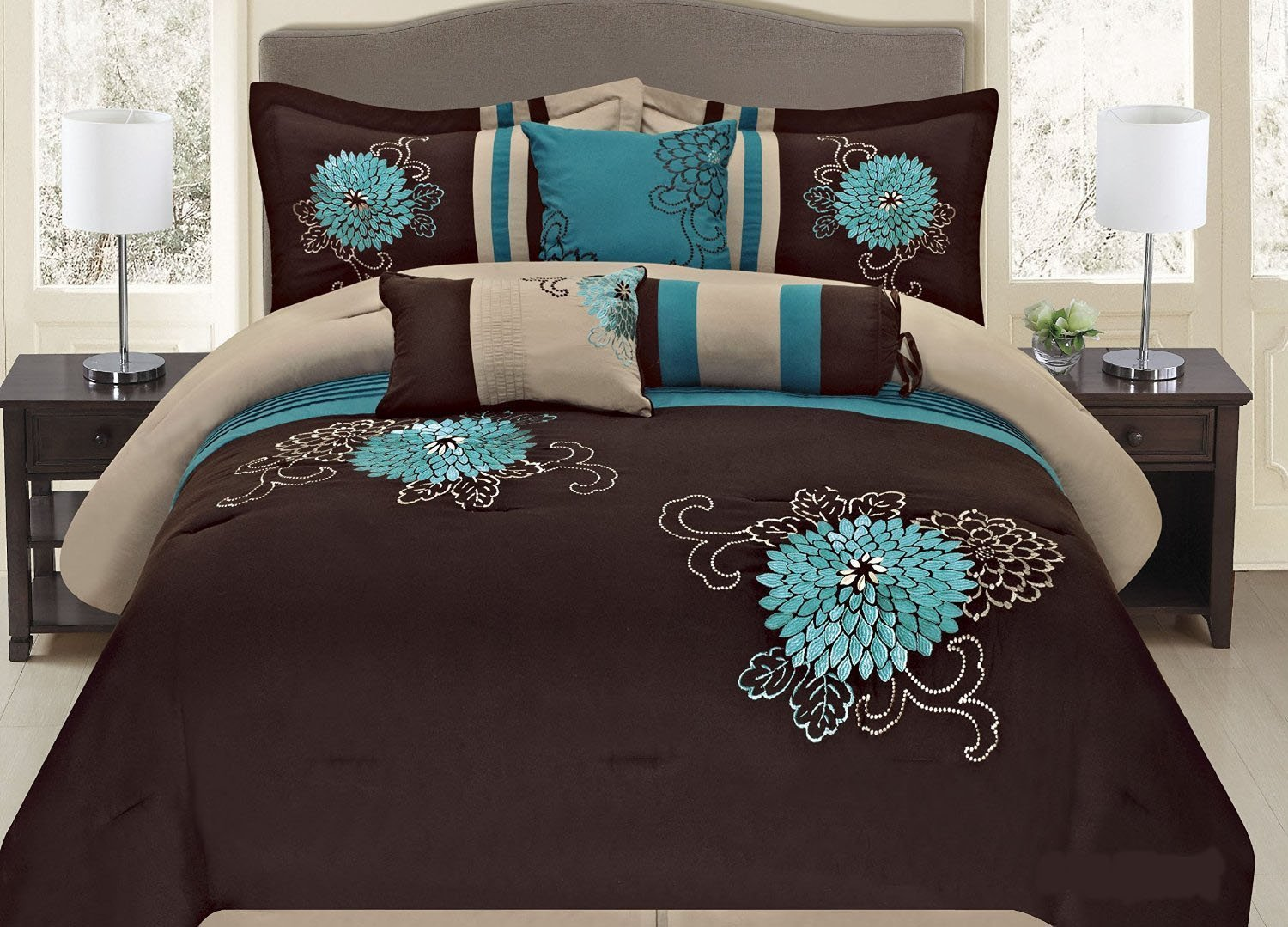 Cheap Turquoise Comforter Set, find Turquoise Comforter Set deals on ...