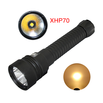 2018 NEW LED dive light 5000Lumens CREE XHP70 led Underwater 100M waterproof cree xhp70 led flashlight