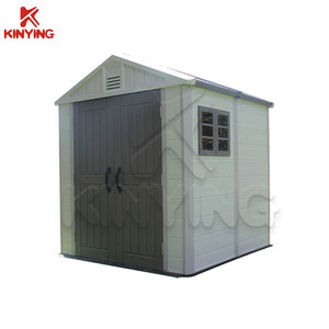Kinying brand plastic storage sheds tool house for sale high quality cheap price mini sheds