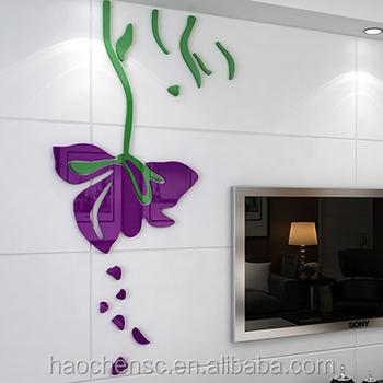 wholesale acrylic mirror wall stickers acrylic mirror sheet