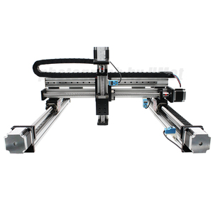3-axis gantry XYZ linear stage 50mm-4000mm customizable ball screw linear  module guide slide rail for 3d printer CNC