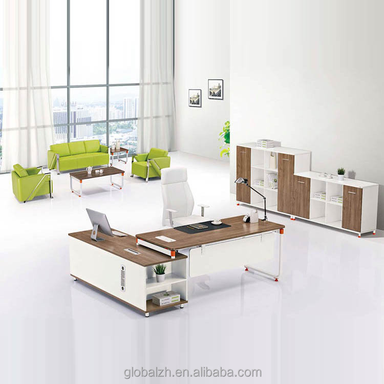 White environment painting Modern executive desk modular office furniture JO-3060
