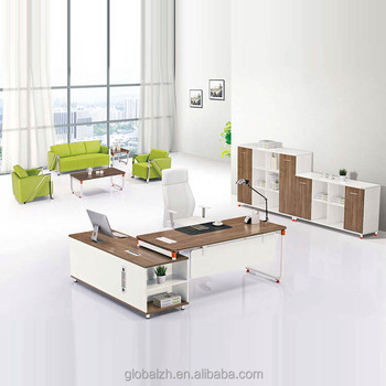 White Environment Painting Modern Executive Desk Modular Office Furniture Jo 3060