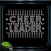 Hot fix crystal custom rhinestone iron on transfer cheer leader