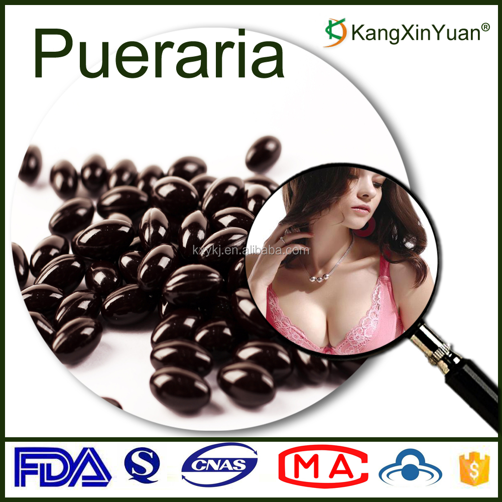 Herbal Supplement Breast Enlargement Pueraria Mirifica Soft Capsule