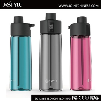 Portable J-style Gene Smart Water Bottle Sport Water Bottle track your hydration data anytime, anywhere.