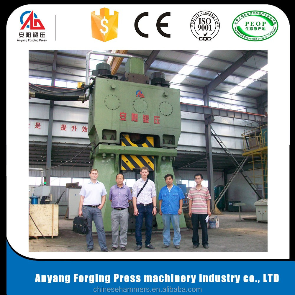 Numerical control hydraulic die forging hammer used for forging axle parts