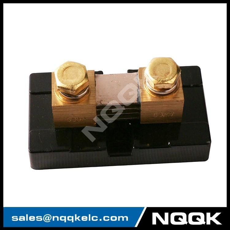 2 FL-US USA type 500A 50mV DC Electric current Shunt Resistors.JPG