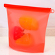 FDA Reusable Silicone Food Storage Bag For Meat Vegetables Fruit and Milk/