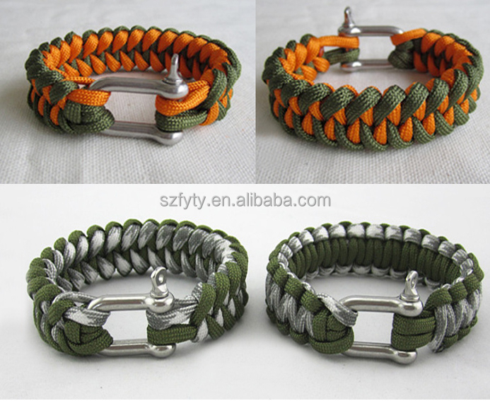 Factory Price Paracord Bracelet - Buy Bow Shackle For Paracord Bracelet,550  Paracord Survival Bracelet,Factory Price Paracord Bracelet Product on