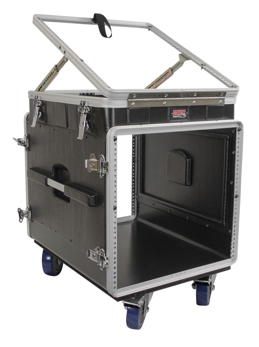 Buy Road Runner 10u Slant Mixer Rack 2u Vertical Rack